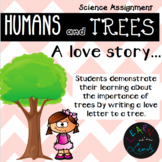 Importance of Trees Assignment - Write a Love Letter to a Tree