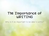 Importance of Writing Presentation