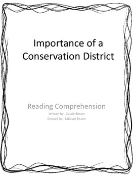 Importance of a Conservation District