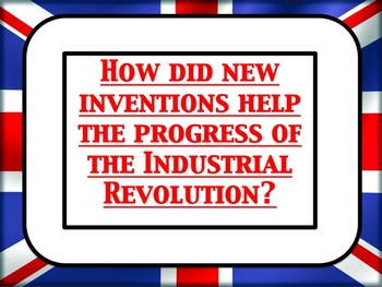 Important inventions in the Victorian Industrial Revolutio