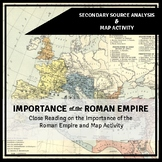 Importance of studying Rome and Geography of Rome Workshee