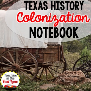 Colonization of Texas Notebook Kit