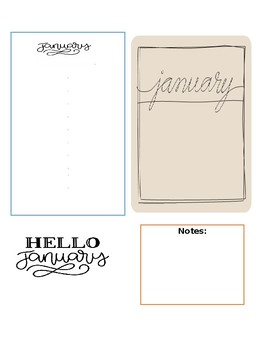 Important Dates January- May
