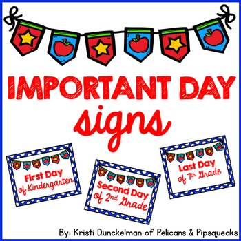 Important Day Photo Prop Freebie