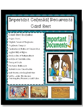 Important Documents Card Sort