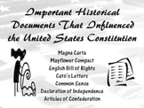 Important Historical Document That Influenced the United States Constitutions
