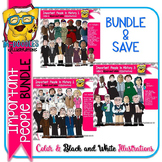 Important Historical People BUNDLE {Commercial Use Clipart}