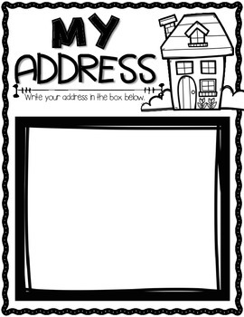 Important Information {Address, Phone Number, Etc.}
