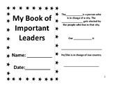 Important Leaders Book