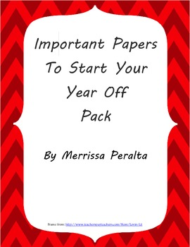 Important Papers to Start the Year With Pack