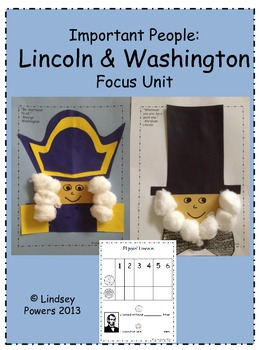 Important People: Lincoln and Washington Focus Unit