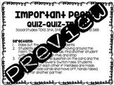 Important People Quiz Quiz Trade