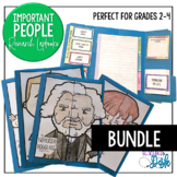 Important People Research Lapbooks GROWING BUNDLE