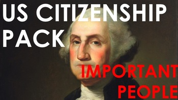 Important People - US Citizenship Pack