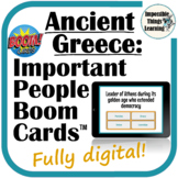 Important People from Ancient Greece Boom Cards™ Review fo