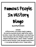 Important People from Civil War to WWII Bingo