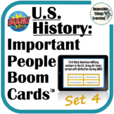 Important People Digital Boom Cards™ Review for U.S. Histo