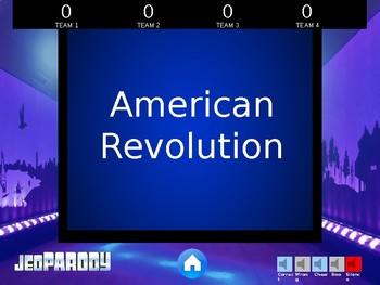 People in U.S. History STAAR Review Game
