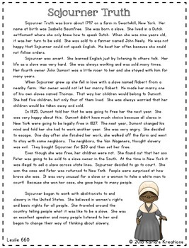 Important People of the Civil War: Informational Text