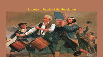 Important People of the Revolution