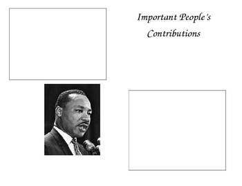 Important People's Contributions