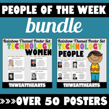 Important Person and Women Fact of the Week Bundle