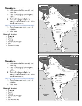Important Physical Features of India and Pakistan