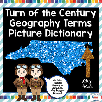 Turn of the Century Geography Terms Picture Dictionary