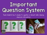 Important Questions Interrupting System {FREEBIE}