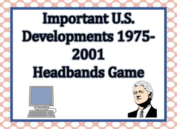 Important US Events 1975-2001 Headbands Game (Digital Version)
