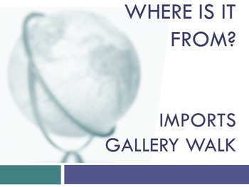 Imports Gallery Walk