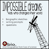Biographies for Science and Social Studies - Reading, Ques
