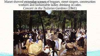 Impressionism Art History Assets
