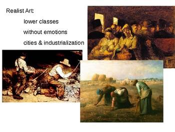Impressionism/Post Impressionism Art Powerpoint