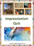 Impressionism Quiz