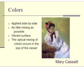 Impressionist Art PowerPoint