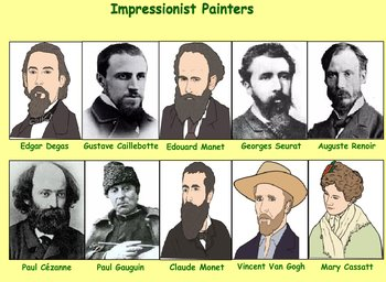 Impressionist Art Quiz - Bill Burton
