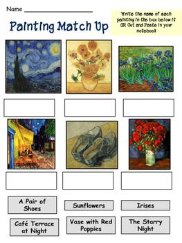 Impressionist Artists - Matisse - Monet - Van Gogh - BUNDLE
