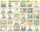 Impressionists' Match Game - Bill Burton