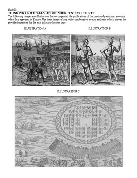 Impressions of American Indians: A Comparison of European Encounters