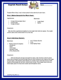 Imprint Fossil Activity (Recipe form & Digging Deep Common Core Questions)