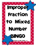 Improper Fraction BINGO
