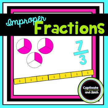 Improper Fraction Minilesson