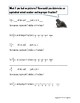 Improper Fraction and Mixed Number Notes, Practice, and Assessment