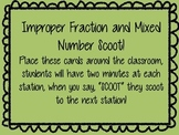 Improper Fraction and Mixed Number Scoot!