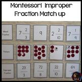 Improper Fraction match up