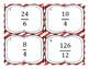 Improper Fraction to Mixed Number Task Cards