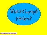 Improper Fractions Flipchart