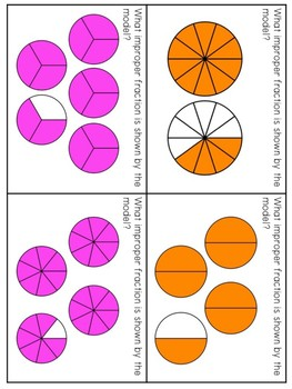 Improper Fractions Small Group Lesson #2