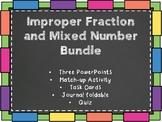 Improper Fractions and Mixed Number Bundle